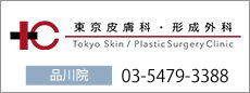 品川の美容外科・美容皮膚科・形成外科は東京皮膚科・形成外科 品川院