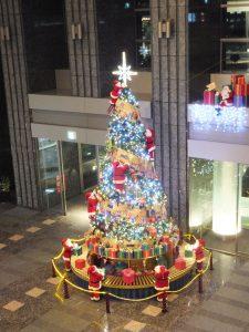 品川イーストワンタワーのクリスマス